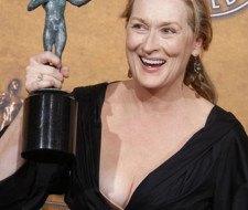 Meryl Streep no está en contra, pero la cirugía estética no es para ella